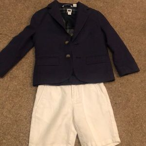 Adorable EUC Janie and Jack Boy's Outfit Size 3